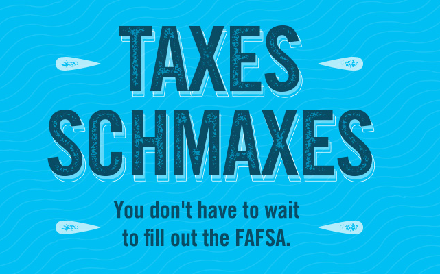 The FAFSA just got easier