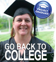 Project Graduate: Go back to college